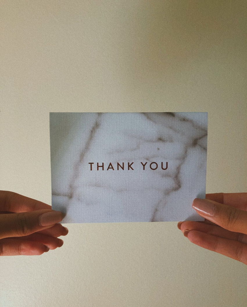 The Beauté Study | How to Stand Out With A Thank You Note | Featured Image